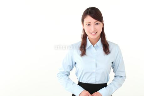 受付の若い女性の写真素材 [FYI01242294]
