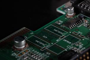 電子回路の写真素材 [FYI01242385]