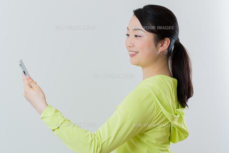 フィトネス 女性の写真素材 [FYI01242850]