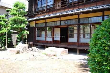 日本建築の写真素材 [FYI01242894]