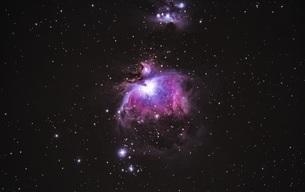 オリオン大星雲の写真素材 [FYI01242906]