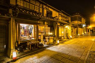 京都東山花灯路の写真素材 [FYI01243598]