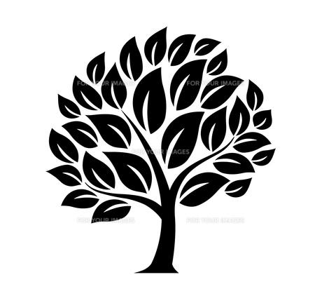 樹木のデザイン素材のイラスト素材 [FYI01243822]