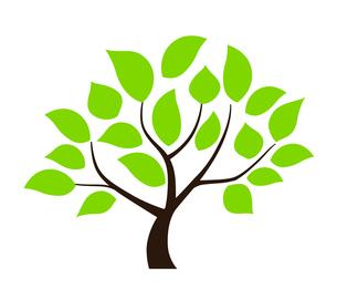 樹木のデザイン素材のイラスト素材 [FYI01243825]