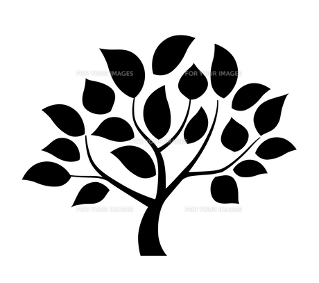 樹木のデザイン素材のイラスト素材 [FYI01243826]