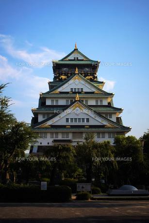 大阪城天守閣の写真素材 [FYI01244167]