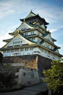 大阪城天守閣の写真素材 [FYI01244169]