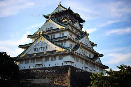 大阪城天守閣の写真素材 [FYI01244170]