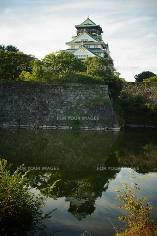 大阪城天守閣の写真素材 [FYI01244177]