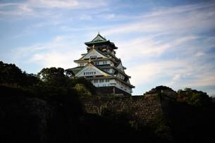大阪城天守閣の写真素材 [FYI01244178]