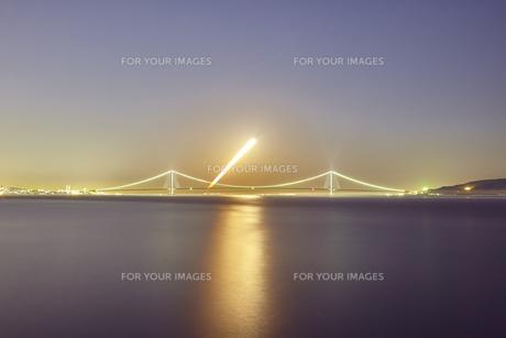 明石海峡大橋の写真素材 [FYI01244205]