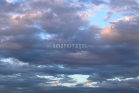 夕方の雲の写真素材 [FYI01244381]