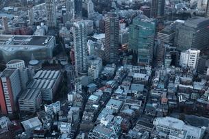 東京の街並みの写真素材 [FYI01244445]