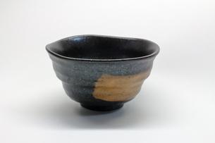 黒い和食器の写真素材 [FYI01244447]