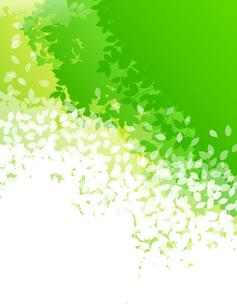 緑イメージ 背景素材のイラスト素材 [FYI01244601]
