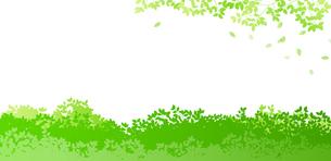 緑イメージ 背景素材のイラスト素材 [FYI01244605]