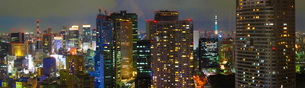 東京夜景の写真素材 [FYI01244668]
