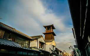 川越・小江戸の時の鐘の写真素材 [FYI01244725]