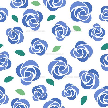 バラのシームレスパターンのイラスト素材 [FYI01244731]