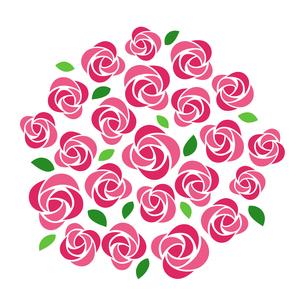 バラの花束のイラスト素材 [FYI01244733]