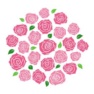バラの花束のイラスト素材 [FYI01244734]