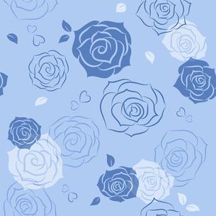 バラのシームレスパターンのイラスト素材 [FYI01244737]