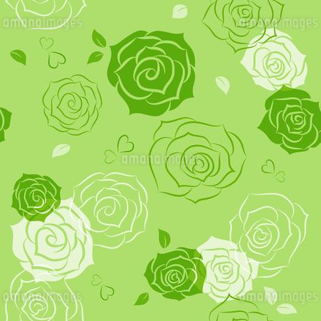 バラのシームレスパターンのイラスト素材 [FYI01244738]