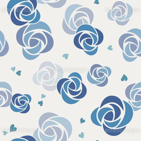 バラのシームレスパターンのイラスト素材 [FYI01244740]