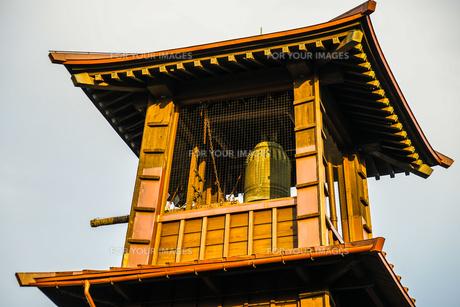 川越・小江戸の時の鐘の写真素材 [FYI01244743]