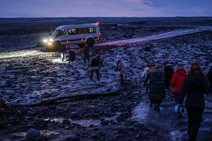 アイスランドのツアーイメージの写真素材 [FYI01244747]