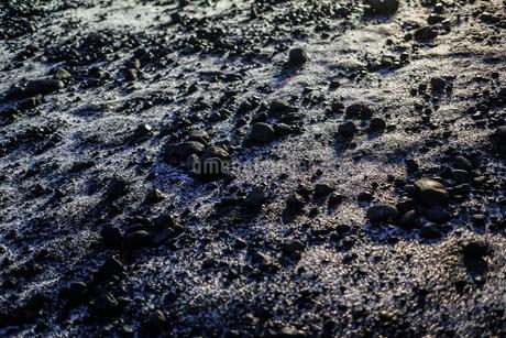アイスランドの雪草原の写真素材 [FYI01244748]