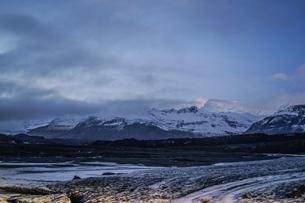 アイスランドの氷山のイメージの写真素材 [FYI01244749]