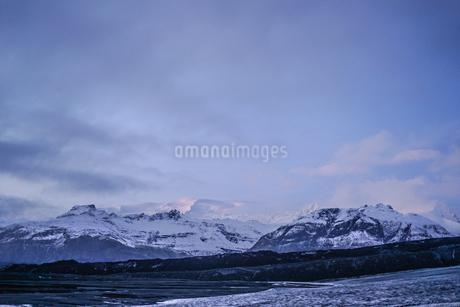 アイスランドの氷山のイメージの写真素材 [FYI01244750]