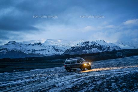 アイスランドのツアーイメージの写真素材 [FYI01244751]