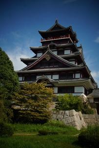 伏見桃山城天守閣の写真素材 [FYI01245124]