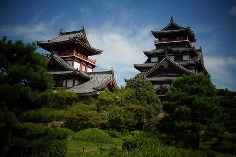 伏見桃山城天守閣の写真素材 [FYI01245126]