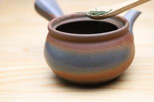 日本茶の写真素材 [FYI01245258]