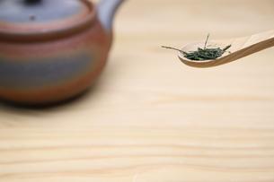 日本茶の写真素材 [FYI01245261]