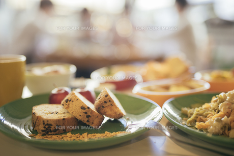 カフェ。ランチ。パウンドケーキの写真素材 [FYI01245853]