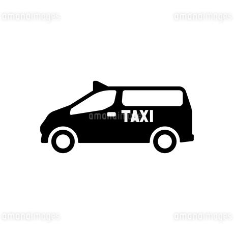 ユニバーサルデザインタクシーのイラスト素材 [FYI01245898]