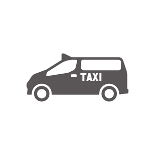 ユニバーサルデザインタクシーのイラスト素材 [FYI01245899]