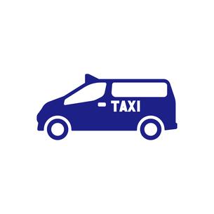 ユニバーサルデザインタクシーのイラスト素材 [FYI01245900]