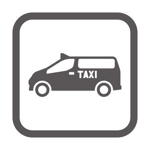 ユニバーサルデザインタクシーのイラスト素材 [FYI01245902]