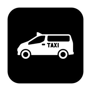 ユニバーサルデザインタクシーのイラスト素材 [FYI01245904]