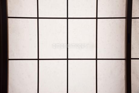 障子のアップの写真素材 [FYI01245937]