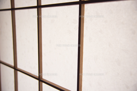 障子のアップの写真素材 [FYI01245963]
