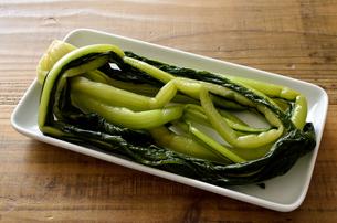 野沢菜の写真素材 [FYI01245974]