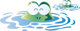 梅雨のカエルのイラスト素材 [FYI01246288]
