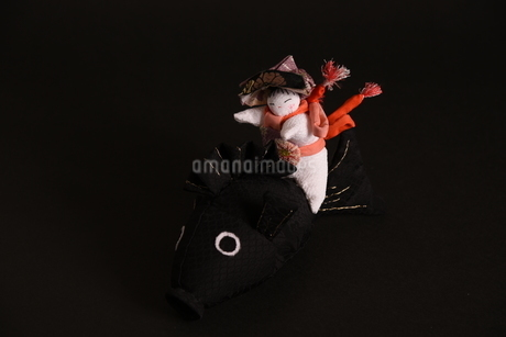 兜 男の子 鯉 人形の写真素材 [FYI01246417]