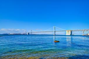 瀬戸大橋 沙弥島から撮影(香川県坂出市)の写真素材 [FYI01246559]